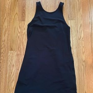 black lululemon dress